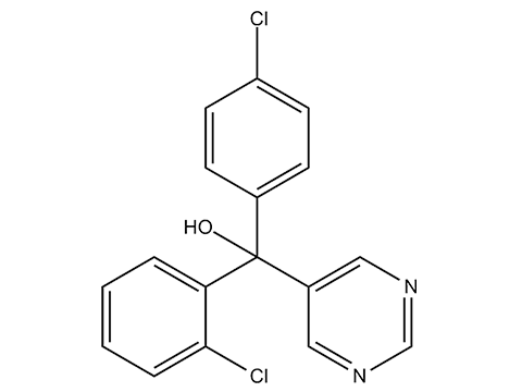 Фенаримол - Структурная формула