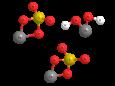 Меди сульфат трехосновный - Трехмерная модель молекулы