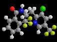 Флуопирам - Трехмерная модель молекулы