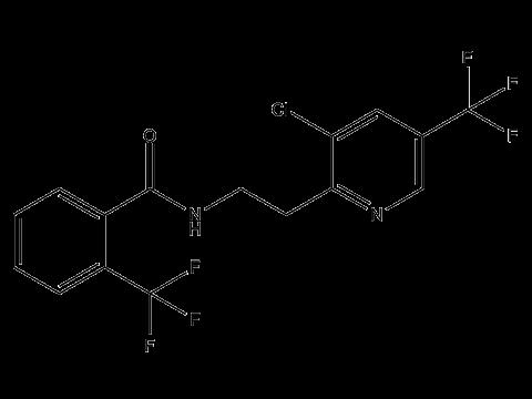 Флуопирам - Структурная формула