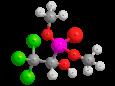 Хлорофос - Трехмерная модель молекулы