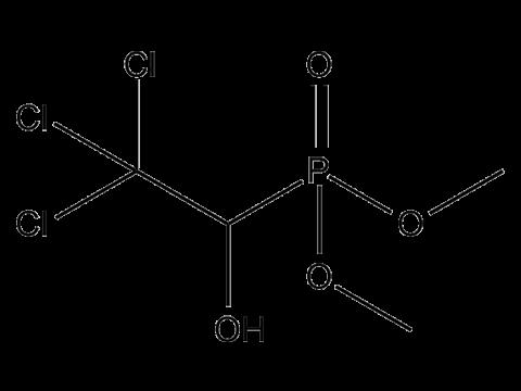 Хлорофос - Структурная формула