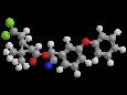 Циперметрин - Трехмерная модель молекулы