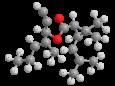 Вапортрин - Трехмерная модель молекулы