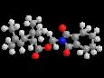 Тетраметрин - Трехмерная модель молекулы