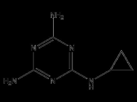 Циромазин - Структурная формула