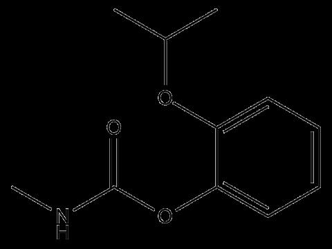 Пропоксур - Структурная формула