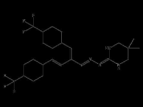Гидраметилнон - Структурная формула
