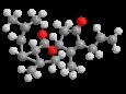 Аллетрин - Трехмерная модель молекулы