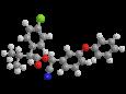 Эсфенвалерат - Трехмерная модель молекулы