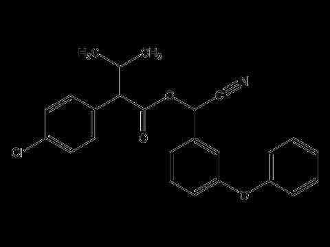 Эсфенвалерат - Структурная формула