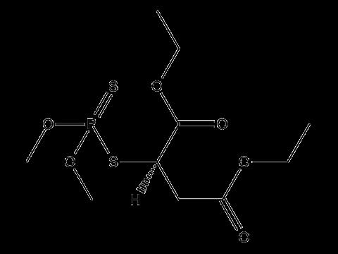 Малатион (Карбофос) - Структурная формула