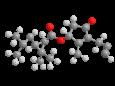 Праллетрин - Трехмерная модель молекулы