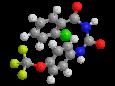 Трифлумурон - Трехмерная модель молекулы