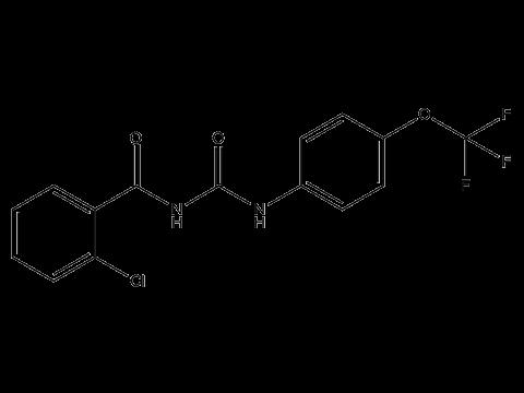 Трифлумурон - Структурная формула