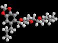 Пиперонилбутоксид (ППБ) - Трехмерная модель молекулы