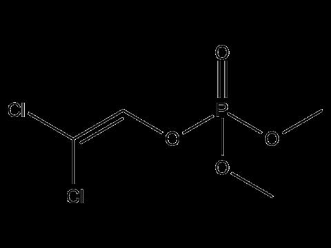 Дихлофос (ДДВФ) - Структурная формула