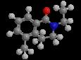 Диэтилтолуамид (ДЭТА) - Трехмерная модель молекулы