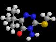 Метрибузин - Трехмерная модель молекулы