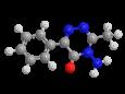 Метамитрон - Трехмерная модель молекулы