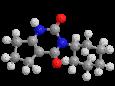 Ленацил - Трехмерная модель молекулы