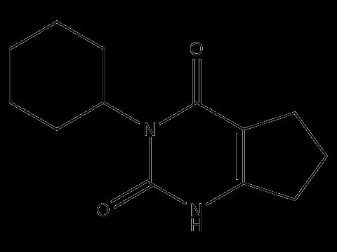 Ленацил - Структурная формула