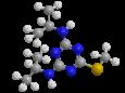 Прометрин - Трехмерная модель молекулы