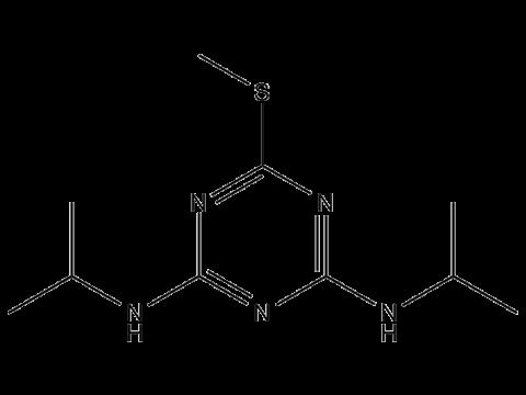 Прометрин - Структурная формула