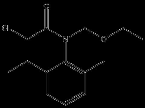 Ацетохлор - Структурная формула