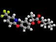 Флуазифоп-П-бутил - Трехмерная модель молекулы