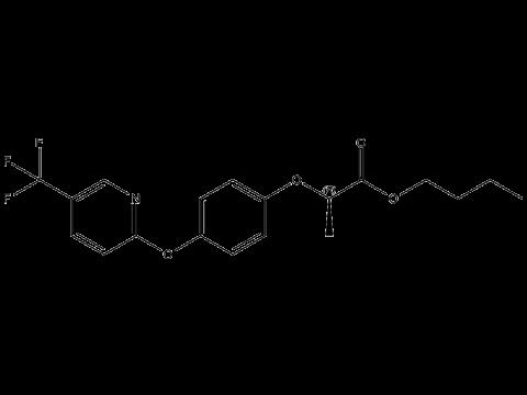 Флуазифоп-П-бутил - Структурная формула