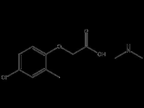 МЦПА (диметиламинная соль) - Структурная формула