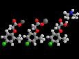 МЦПА (диметиламинная+калиевая+натриевая соли) - Трехмерная модель молекулы