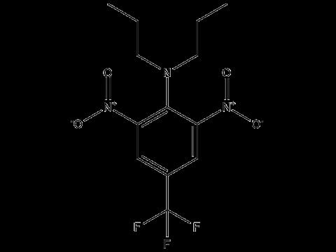 Трифлуралин - Структурная формула