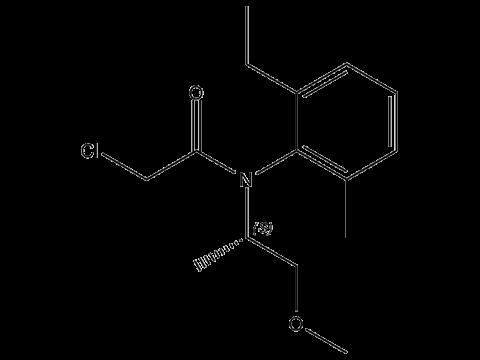 С-Метолахлор - S-изомер структурная формула
