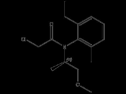 С-Метолахлор - R-изомер структурная формула