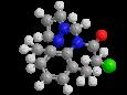 Метазахлор - Трехмерная модель молекулы