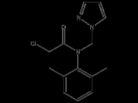 Метазахлор - Структурная формула