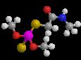 Диметоат - Трехмерная модель молекулы