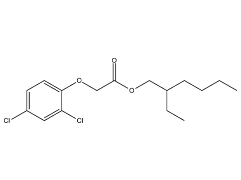 Дикамба (2-этилгексиловый эфир) - Структурная формула