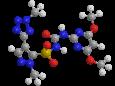 Азимсульфурон - Трехмерная модель молекулы