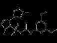 Азимсульфурон - Структурная формула