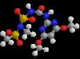 Амидосульфурон - Трехмерная модель молекулы