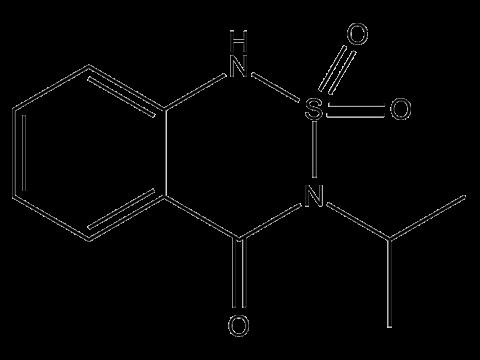 Бентазон - Структурная формула