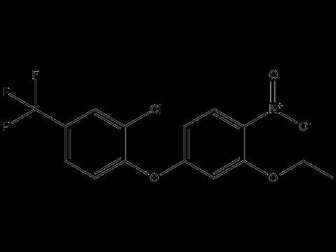 Оксифлуорфен - Структурная формула