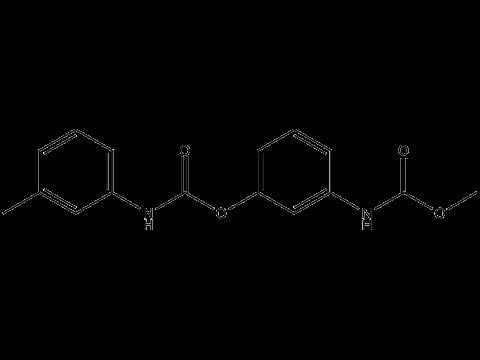 Фенмедифам - Структурная формула