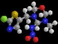 Тиаметоксам (Актара) - Трехмерная модель молекулы