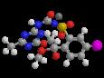 Йодосульфурон-метил-натрий - Трехмерная модель молекулы