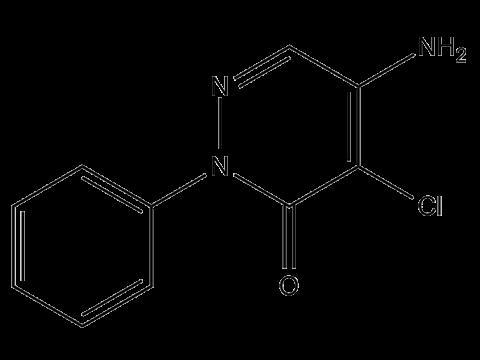 Хлоридазон - Структурная формула