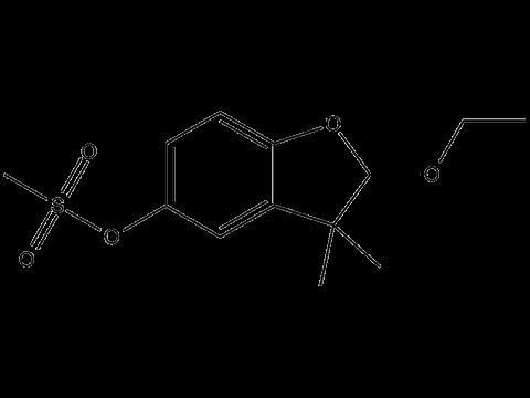 Этофумезат - Структурная формула